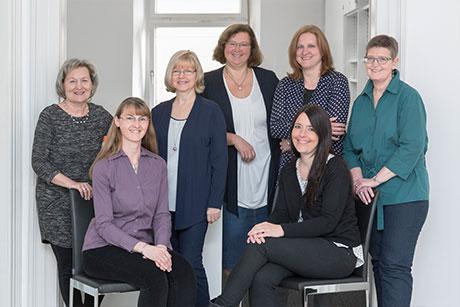 Büroteam der Rechtsanwaltskanzlei Schlachter und Kollegen in Regensburg